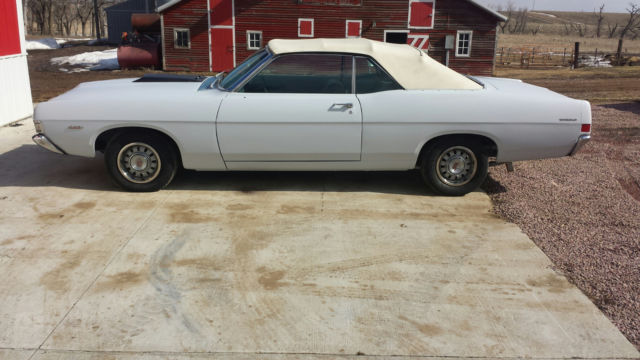 Ford Gt Torino Convertible Big Block  Loaded With All Options Rare Rare