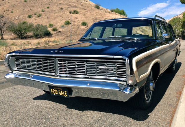 1968 Ford Ltd Country Squire Wagon 46 500 Original Miles