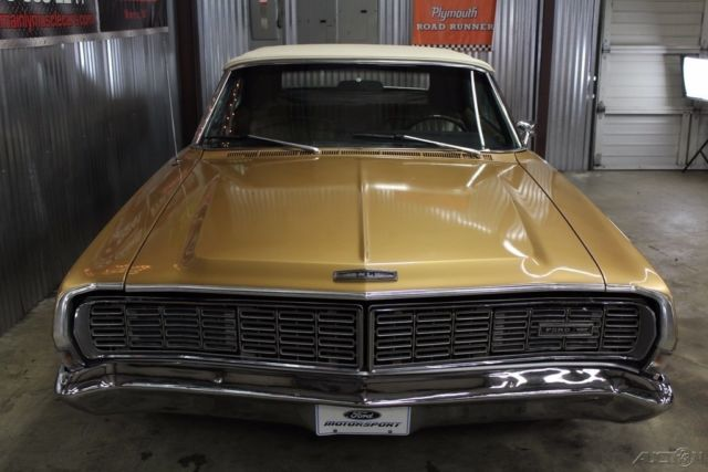 1968 Galaxie Convertible Factory Q Code 428, Cast Iron Headers
