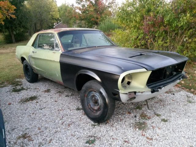 1968 Mustang Coupe Perfect For Fastback Conversion Almost A