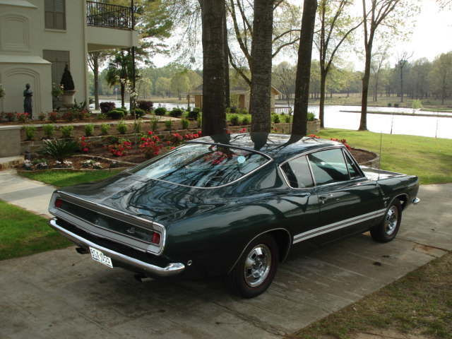 1968 Plymouth Barracuda Formula S 383 4 Speed For Sale In Malvern Arkansas United States