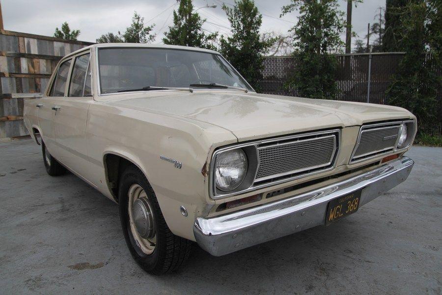 1968 plymouth valiant 100 4 door sedan automatic 6 cylinder no reserve. Black Bedroom Furniture Sets. Home Design Ideas
