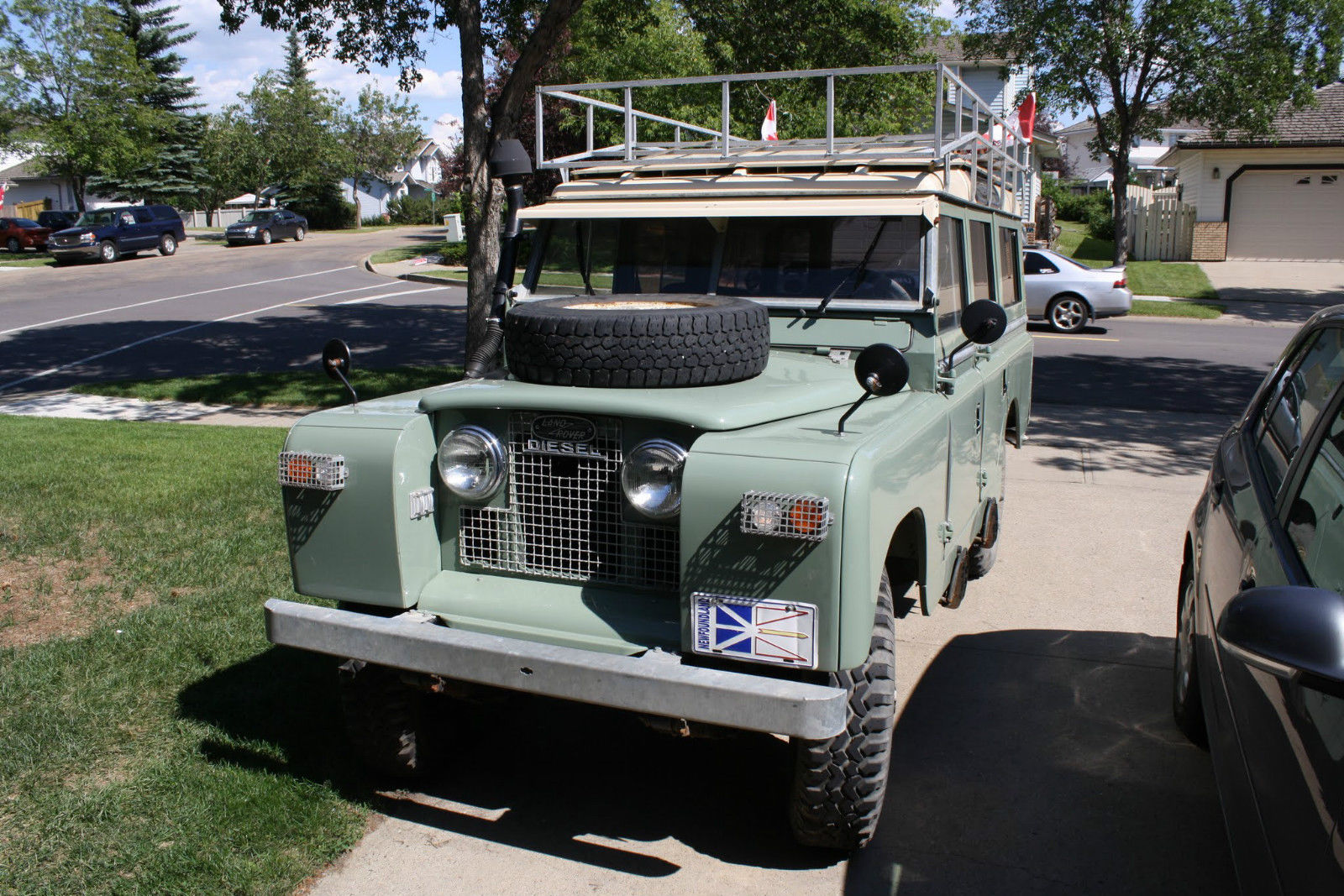1968 series 2a land rover 109 for sale in st albert. Black Bedroom Furniture Sets. Home Design Ideas