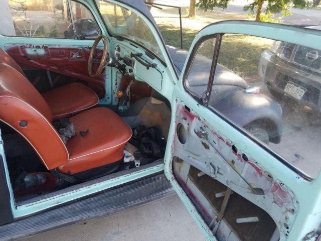 1968 Volkswagen Beetle W Automatic Stickshift