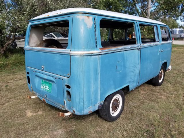 1968 Volkswagen Bus Early Bay Window Vw Kombi Samba