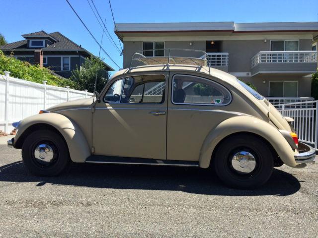 1968 Vw Beetle Bug Roof Rack Special Plates Volkswagen 68