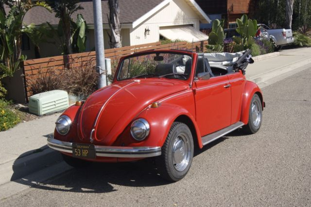 1968 vw beetle convertible california original car 1 family owned no reserve. Black Bedroom Furniture Sets. Home Design Ideas
