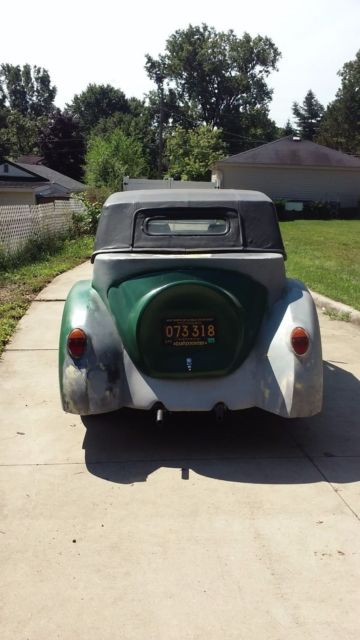 1968 Vw Beetle Convertible With 1940 Lincoln Zephyr Body Kit Car