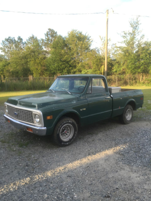 1969 70 71 72 Chevy Truck C 10 Short Bed