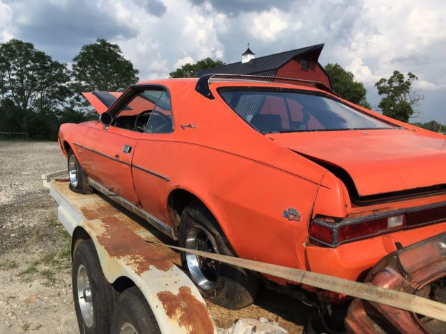 1969 AMC Javelin SST Big Bad Orange Package