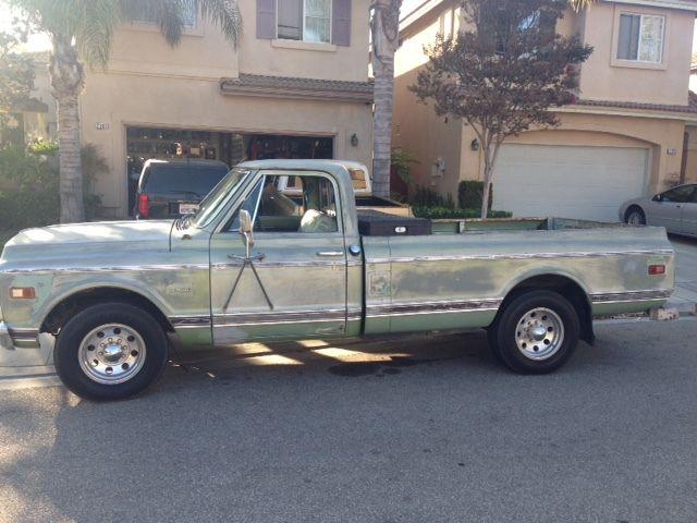1969 c20 chevy pick up truck longhorn 3 4 ton c10 chevrolet 1969 Chevy C20 vs C10
