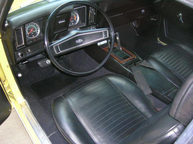 1969 Camaro Rs Ss 396 X22 Norwood Original 396 350 Hp Engine And Build Sheet