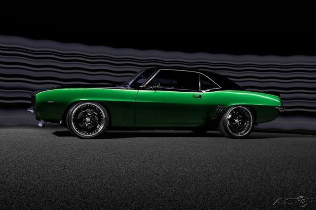 1969 Camaro RS/SS Pro Touring, Restomod, 396ci, 4 SPD, 4 Wheel Disk
