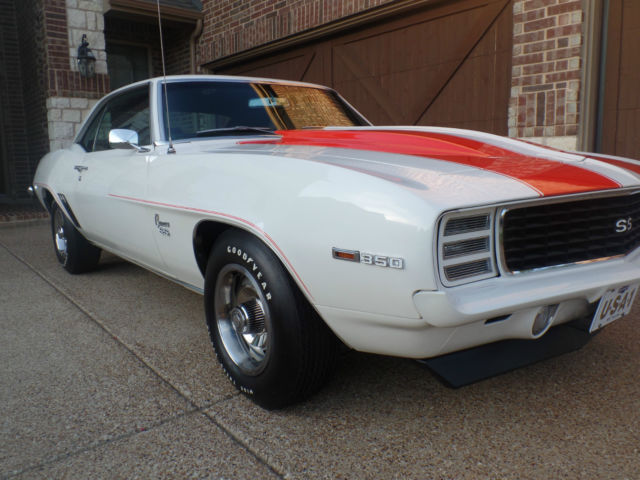 1969 Camaro Rs Ss Z10 Pace Car Coupe Rare