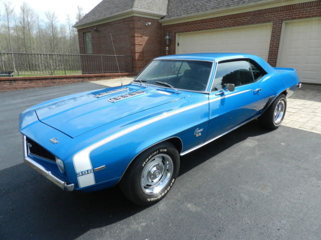 1969 Camaro Ss 396 350hp No Reserve 4sp 12 Bolt Lemans