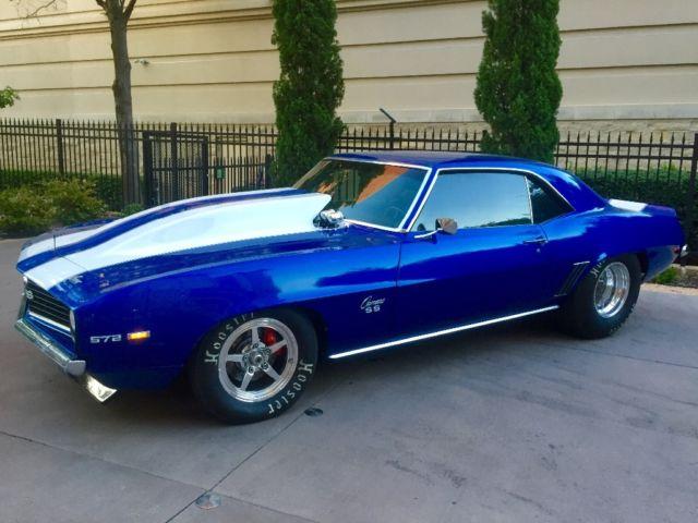1969 Camaro Ss Pro Street Over 80 Build Street Legal 9sec Car