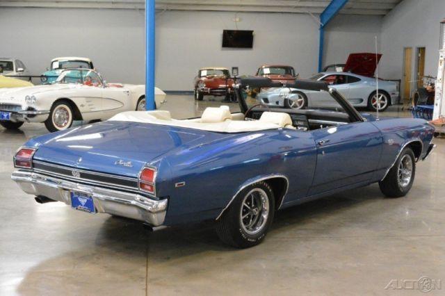 1969 Chevelle SS Convertible 396ci V8 350hp 4 Speed AACA Grand National Winner