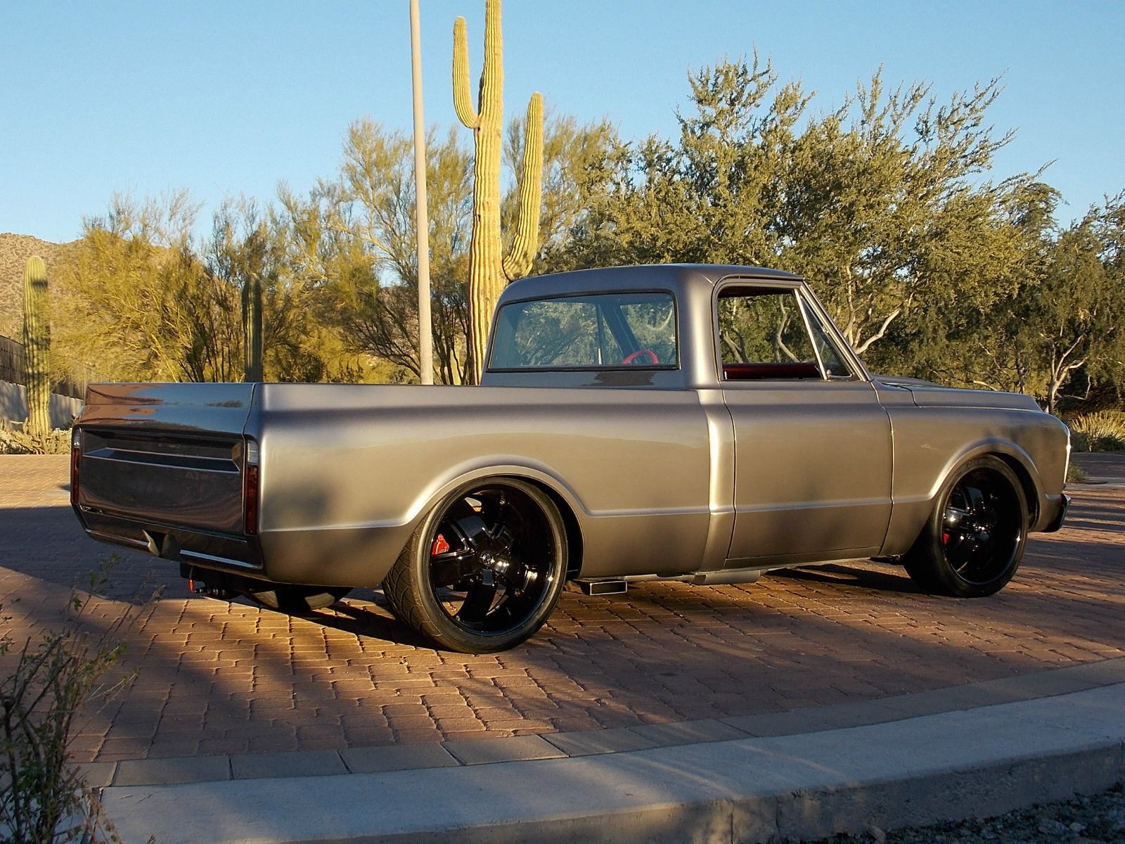 1969 chevrolet c10 454 pro touring arizona rust free show truck for sale in mesa arizona. Black Bedroom Furniture Sets. Home Design Ideas