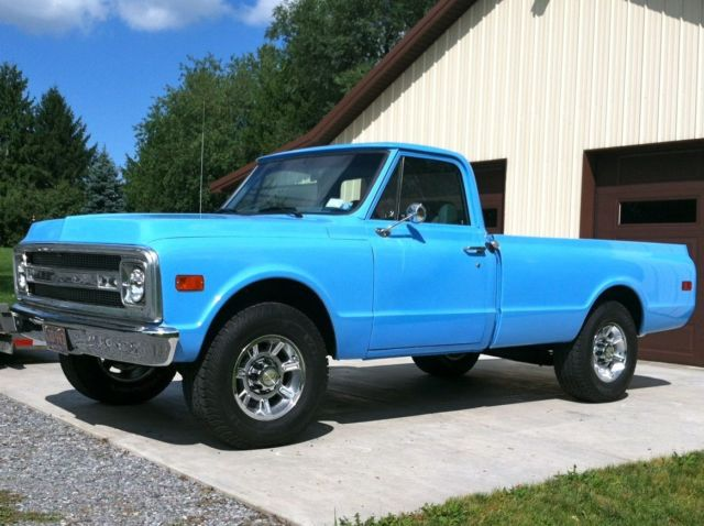 1969 chevrolet c20 pickup truck custom build 1969 Chevy C20 Bed Assembly