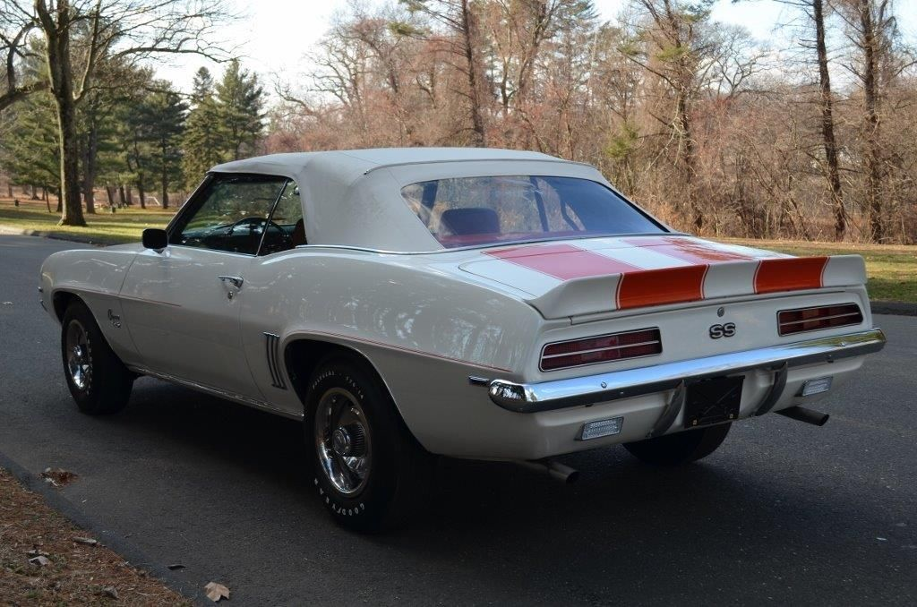 1969 Chevrolet Camaro Ss Rs 350 Pace Car Z11 Convertible Manual Transmission