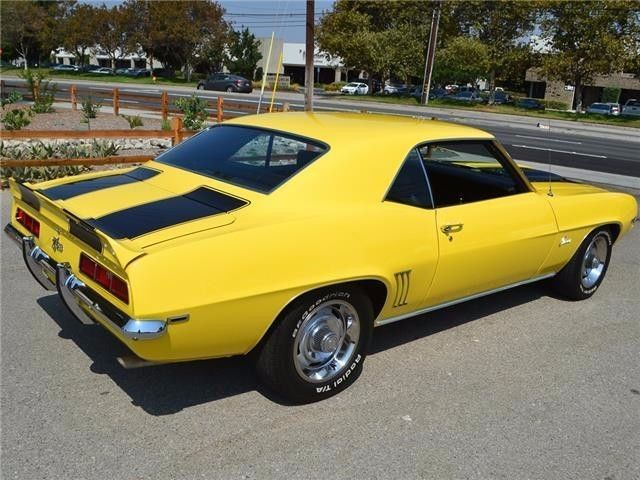 1969 chevrolet camaro z28 coupe daytona yellow. Black Bedroom Furniture Sets. Home Design Ideas