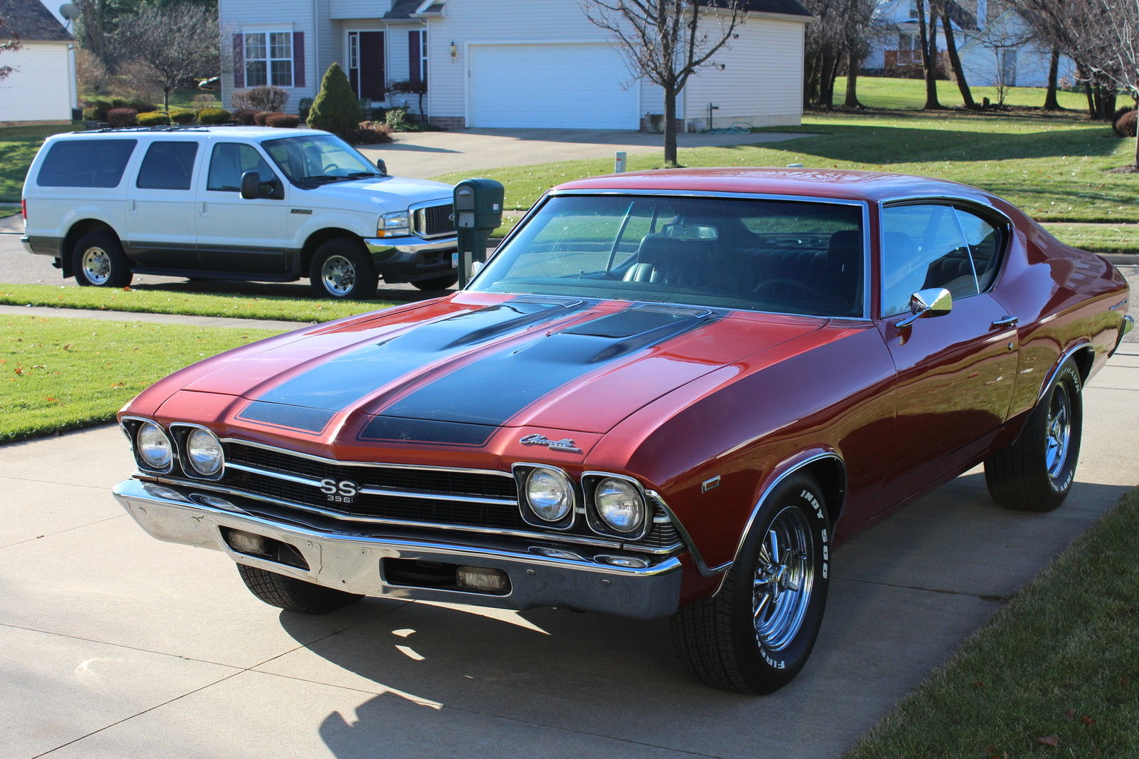 1969 Chevrolet Chevelle Ss 454 Chevy Hot Street Rat Rod Not 1968 Wiring Harness 1970 1971 1972