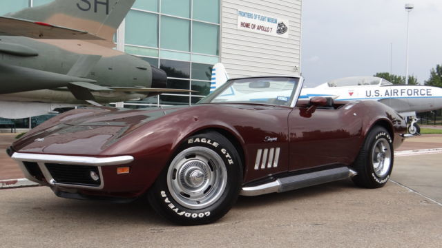 1969 Chevrolet Corvette Convertible Stingray Zz383 350 Swap 4 Speed