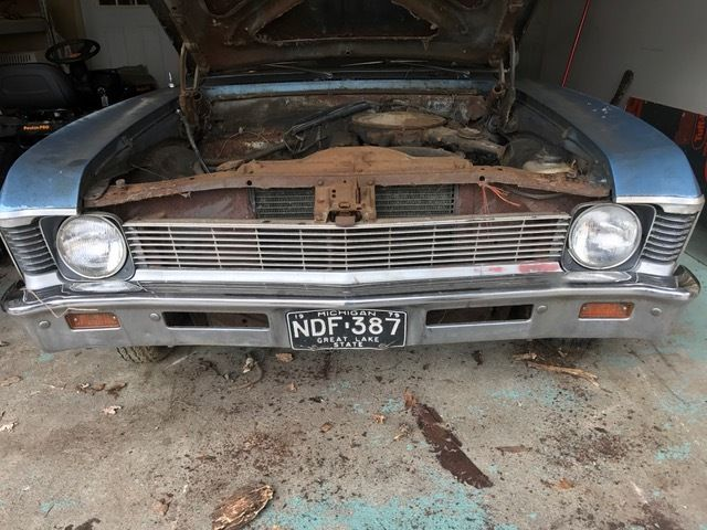 1969 Chevy Nova Project Car Or For Parts