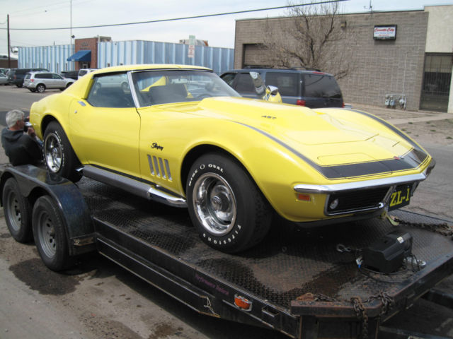 1969 Corvette Coupe Zl1 Clone Correct Dated Block
