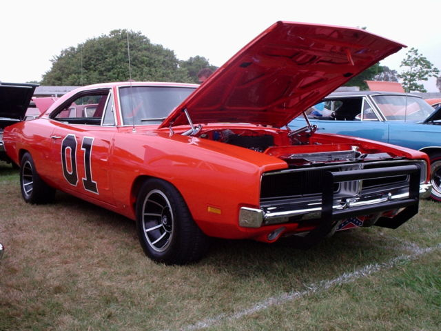 1969 Dodge Charger General Lee 440 Race Car Dukes Of Hazzard