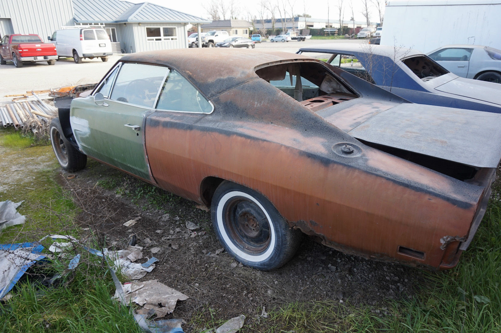 1969 Dodge Charger Restoration Project For Sale In