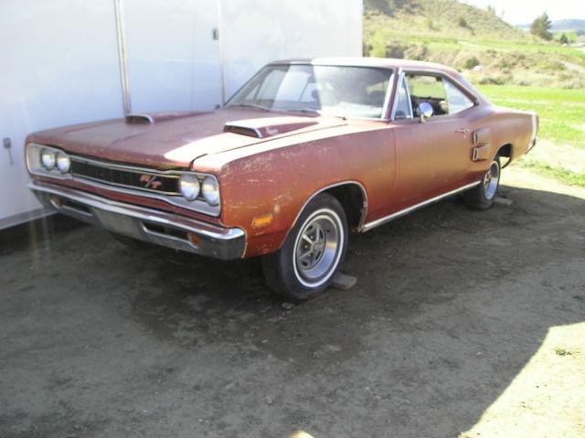 1969 Dodge coronet R/T 440 hemi 4spd dana 60 ram air ...