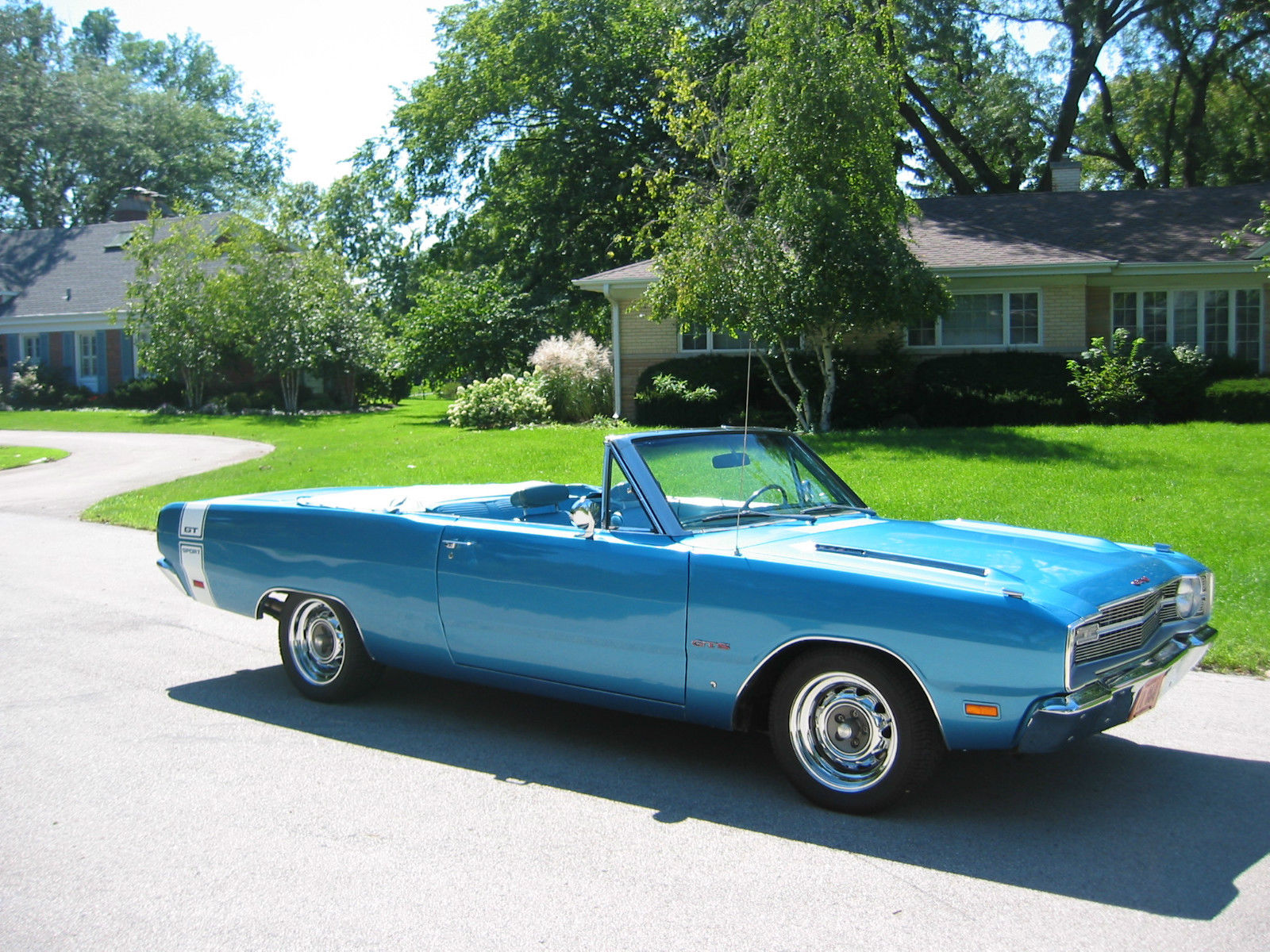 1969 Dodge Dart Gts Convertible Hp383 Rare 1 Of 39 1 Of 1 W23 K H Recall Wheels For Sale In River Falls Wisconsin United States