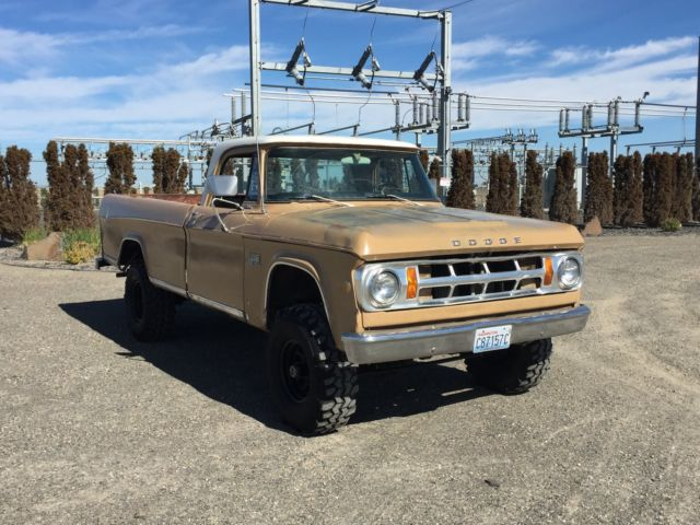 1969 Dodge Power Wagon For Sale Craigslist Autos Post
