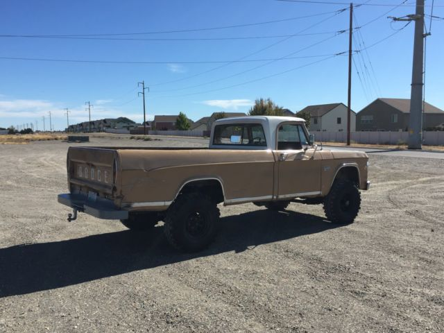 1969 Dodge W100 4x4 Power Wagon 12 Ton Truck For Sale | Autos Post