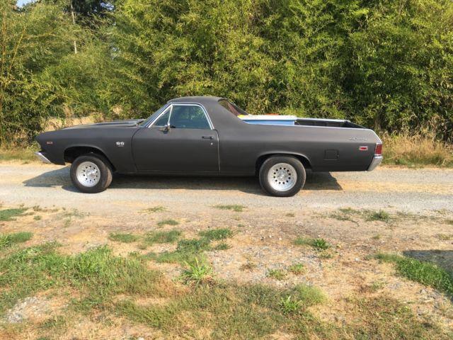1969 Elcamino Ss396 Real Deal 396 4 Speed 12 Bolt Tach