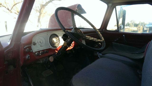 1969 ford 700 flatbed dually truck classic original interior