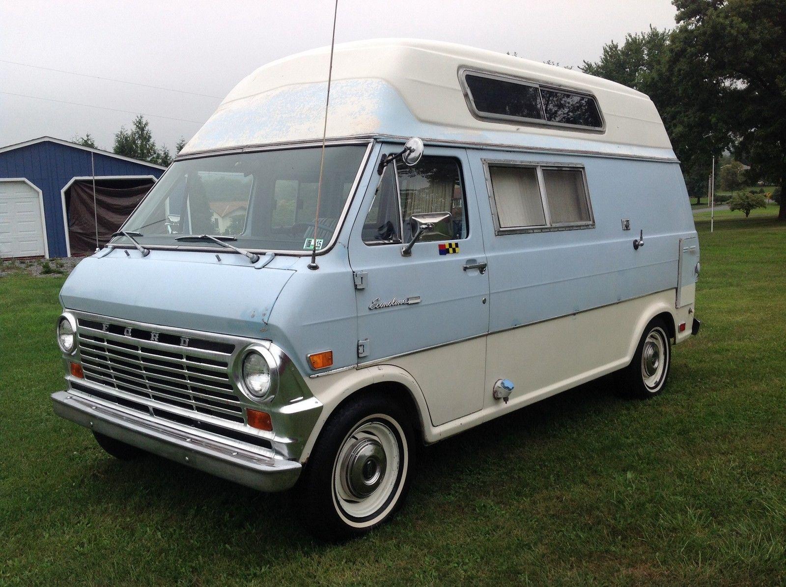 1969 ford econoline super van camper. Black Bedroom Furniture Sets. Home Design Ideas