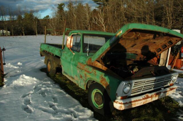 1969 Ford F100 F-100 Pick-up Truck 360 V8 Runs Nicely 5
