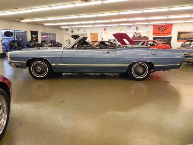 1969 ford galaxie 500xl gt 32561 miles blue convertible 429 automatic. Black Bedroom Furniture Sets. Home Design Ideas