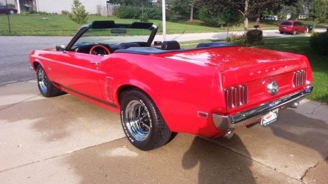 1969 ford mustang convertible 2 door 5 0l for sale in algonquin illinois united states. Black Bedroom Furniture Sets. Home Design Ideas