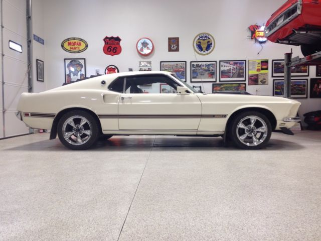 1969 Ford Mustang Mach 1 390 S Code Fully Restored