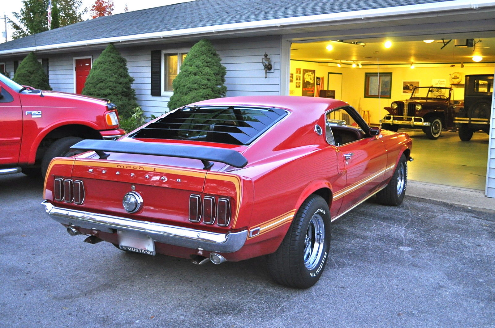 1969 ford mustang mach 1 428 cobra jet. Black Bedroom Furniture Sets. Home Design Ideas