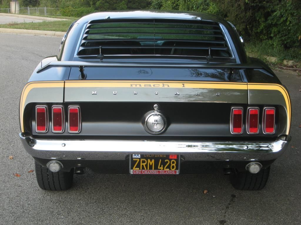 1969 Ford Mustang Mach 1 R Code 428 Cobra Jet Fastback Cj