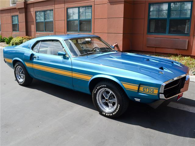 1969 Ford Shelby Gt350 Fastback Coupe 36k Miles Showing Very Original