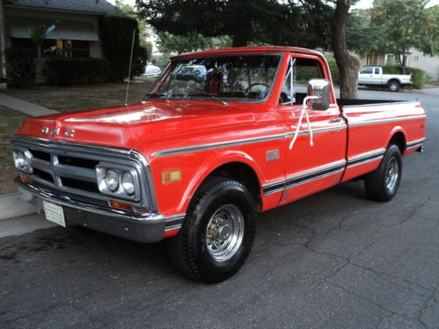 1969 GMC 2500 Chevrolet C20 GMC 920 Look Read Ad Rare Truck 3