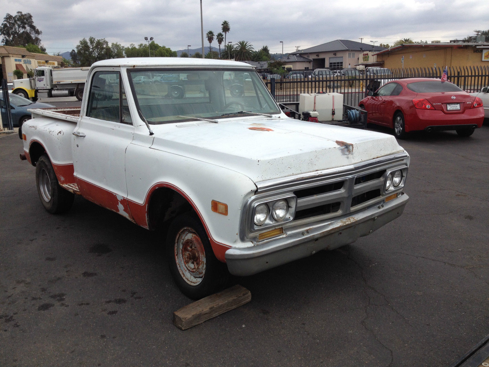 1969 gmc chevrolet short bed pickup truck c10 step side for Classic beds for sale