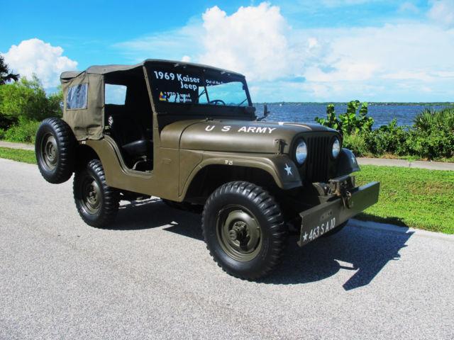 1969 Kaiser Jeep Cj5 Military Edition