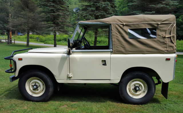 1969 Land Rover 88 U0026quot  Series 2a Bugeye