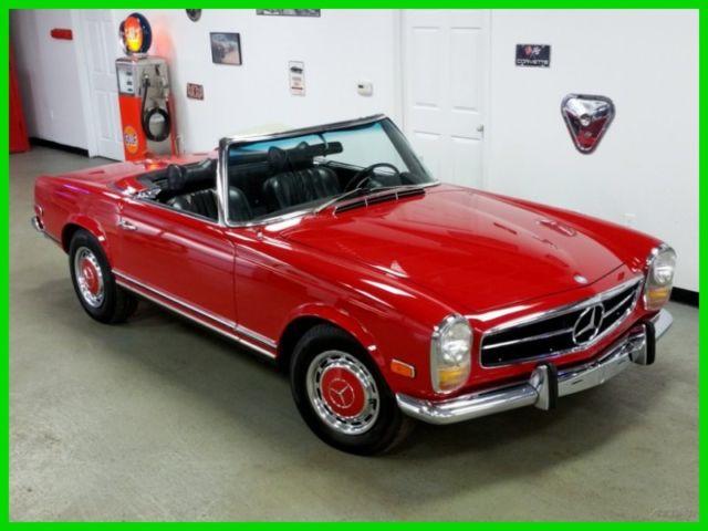 MERCEDES-BENZ 280sl 1969-Red